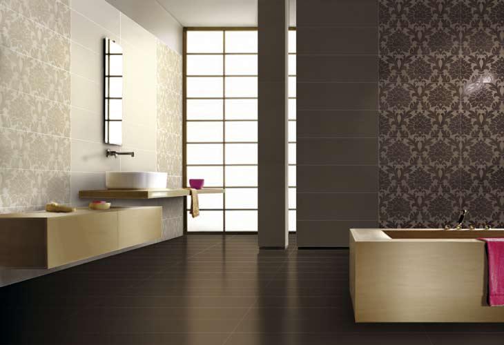 Piastrelle bagno damascate stonevision effetto marmo bagno bagni